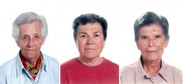 Italian Nuns: Lucia Pulici, Olga Raschietti and Bernardetta Boggian